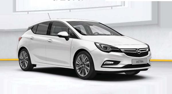 Nová Opel Astra 2016